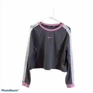 Nike Dri-fit Perforated Crop Training Top